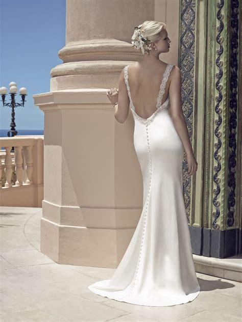 Lowback Ribbon Dress top ten low back wedding dresses from casablanca bridal