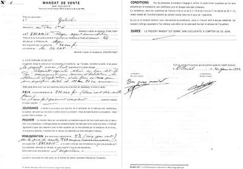 Lettre De Résiliation Mandat Immobilier Modele Lettre Resiliation Exclusivite Agence