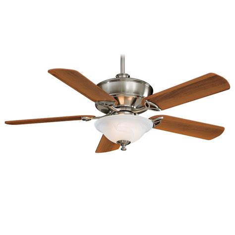 52 ceiling fan with light and remote minka aire f620 bn bolo brushed nickel 52 quot ceiling fan w