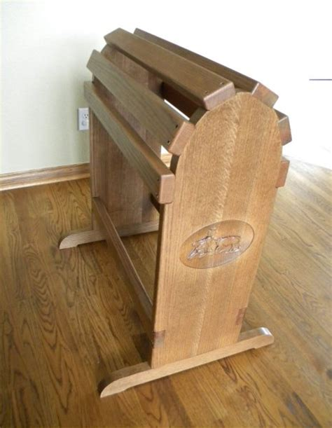 wooden saddle rack plans woodproject