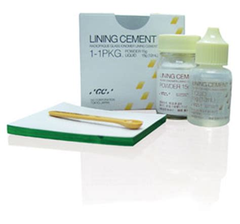 Cement Spatle Plastik Dental By Gc lining cement self cured liner 1 1 pkg northern surgical