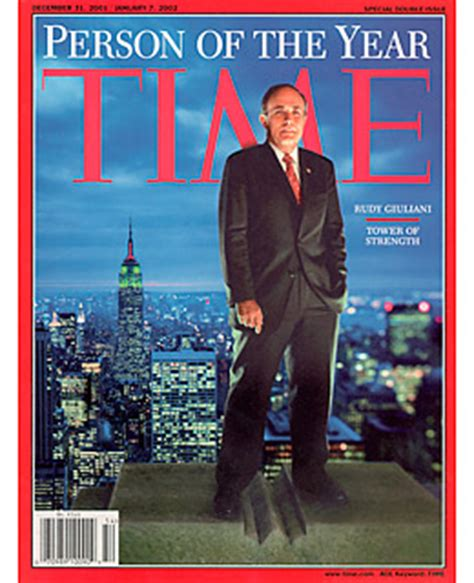 rudy giuliani person of the year 2009 time