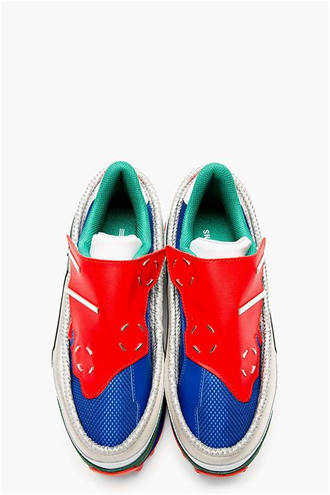 raf simons blue platform adidas edition sneakers s style sneakers adidas shoes