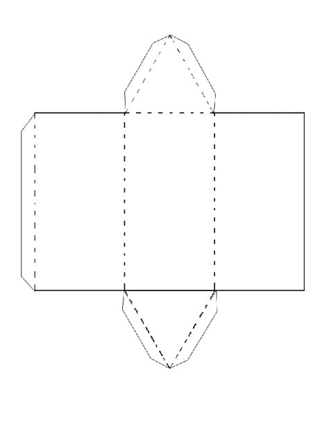 How To Make A Triangular Prism Out Of Paper - geo metron