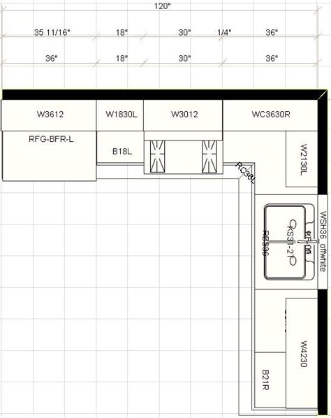 Kitchen Cabinets Design Layout Layout For Kitchen Cabinets Afreakatheart
