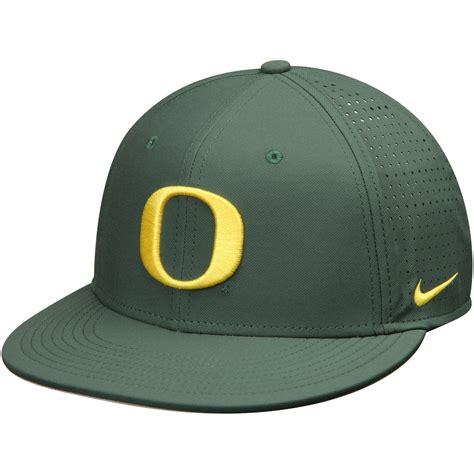 nike oregon ducks green true vapor performance fitted hat