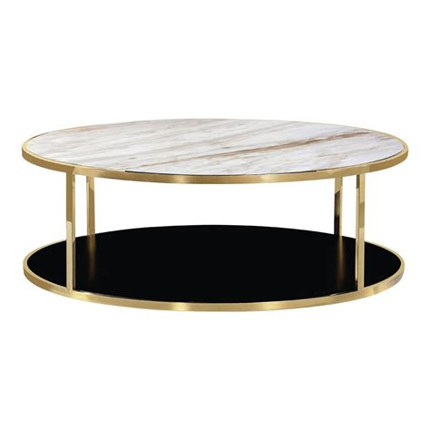White Marble Top Coffee Table Gold Luxor Coffee Table White Marble Top Coffee Tables