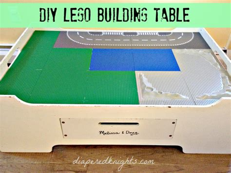 how to make a lego bench make your own lego table handmade holiday daze and knights