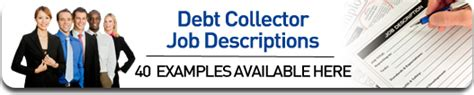 debt collector description for agencies and companies