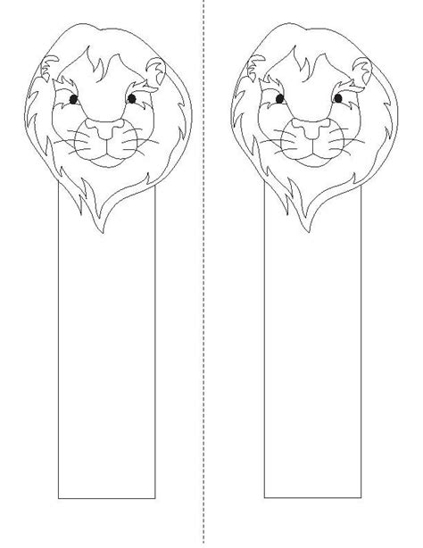 printable animal bookmarks to color bookmarks to color animal bookmarks distributed for