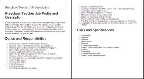 day care description for resume website resume cover letter