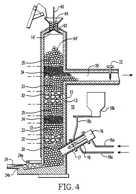 cupola diagram patent ep0395397a2 process and apparatus for treatment