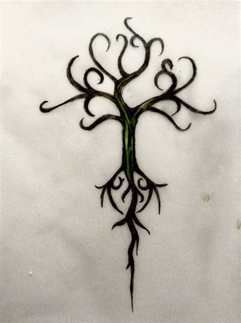 yggdrasil tattoo yggdrasil design by miladybyron on deviantart