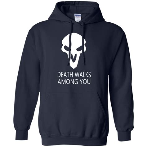 overwatch ow reaper walks among you t shirt