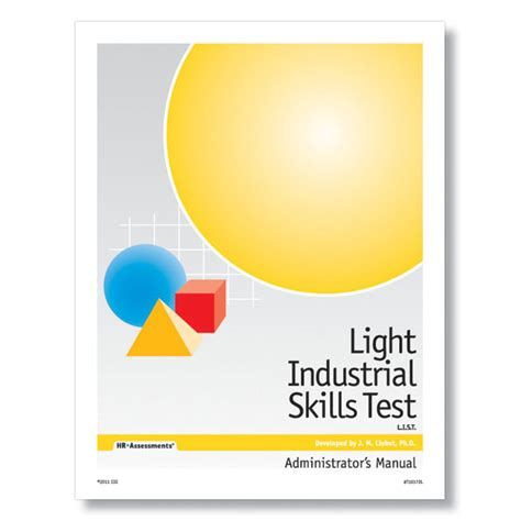light industrial skills test for light industry workforce