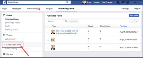 how to make a fan page how to create a lead ad through your facebook fan page