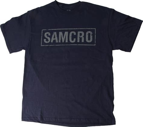 Tshirt T Shirt Samcro sons of anarchy soa samcro logo t shirt navy ebay
