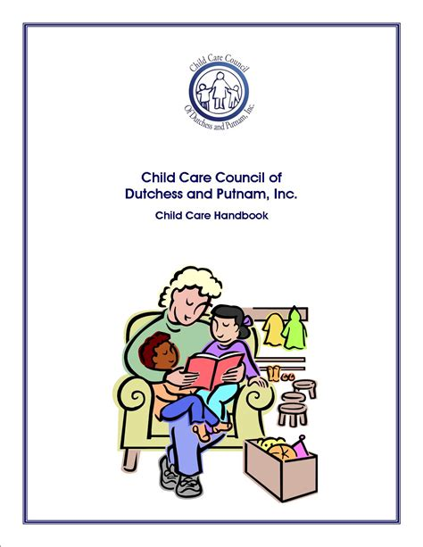 Printable Copy Of Child Care Handbook Child Care Employee Handbook Template