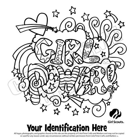 Brownie Girl Scout Coloring Pages Girl Scout Logo Scout And Promise Coloring Pages Free
