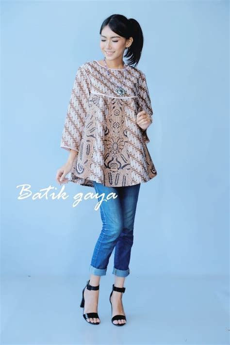 Baju Atasan Kemeja Wanita Top Blouse Dress 6 341 best ideas batik images on batik