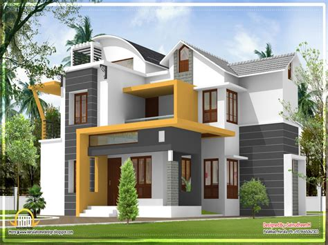 contemporary home design modern house plans kerala modern house design