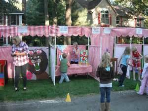 Fall Festival Decoration Ideas Church - carnival booth pvc frame plans diy carnival booths