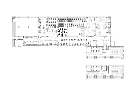fitness center floor plans smena fitness club za bor architects archdaily