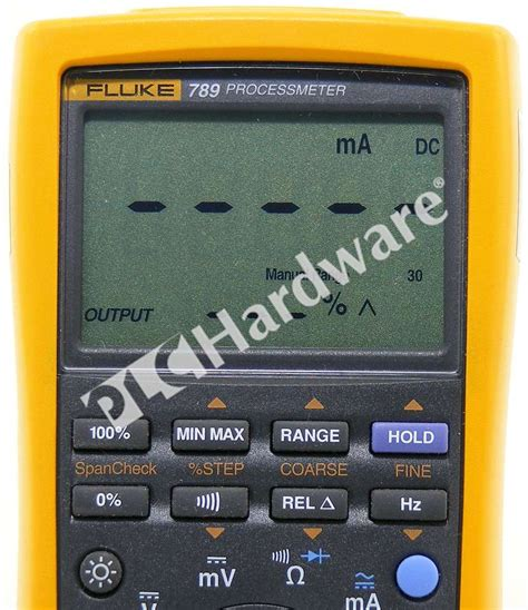 Multimeter Fluke 789 new fluke 789 processmeter multimeter loop calibrator lead