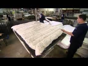 factory tour building a mattress