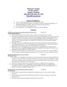 Stay At Home Returning To Work Resume Sle by Cv Personal Statement