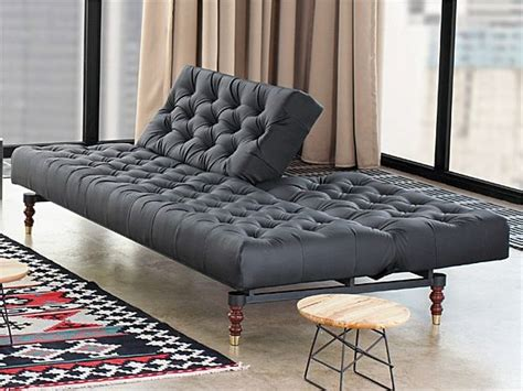 tufted sofa bed black tufted chesterfield sofa bed by per weiss