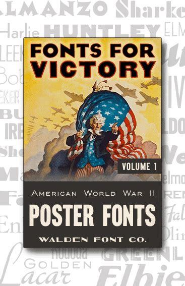 world war 2 typography american poster fonts of world war ii volume 1 american