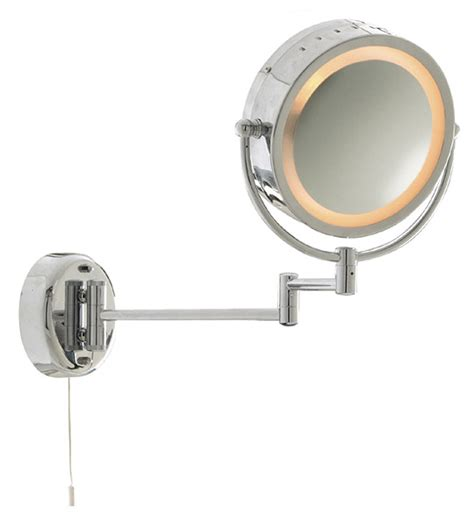 bathroom shaving mirror with light shave mirror extendable electric mirror nottingham