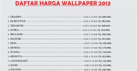 Harga Wallpaper Merk Wall jual wallpaper dinding merk lacasa starwall tritama