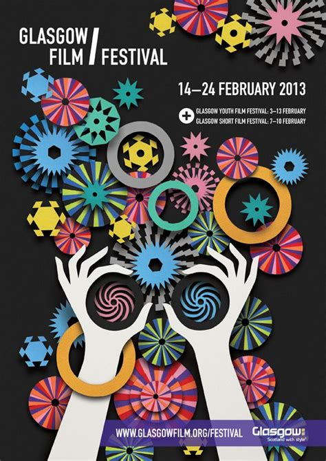 poster design glasgow lesley barnes illustration for glasgow film festival 2013