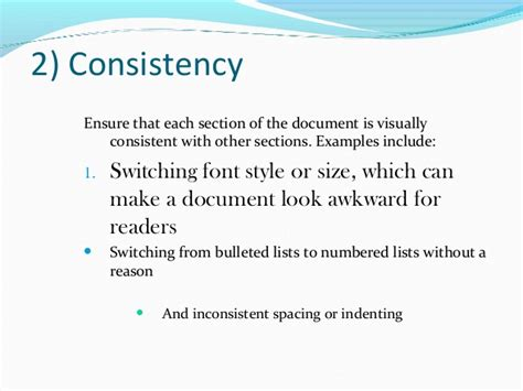 document layout design principles five principles of document design