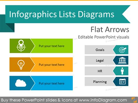 Simple Flat Design Powerpoint Templates Powerpoint List Templates