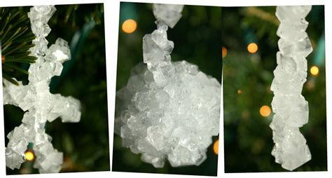 crystal ornaments from borax how to make at home craft