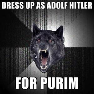 Purim Meme - hitler jokes one liners kappit