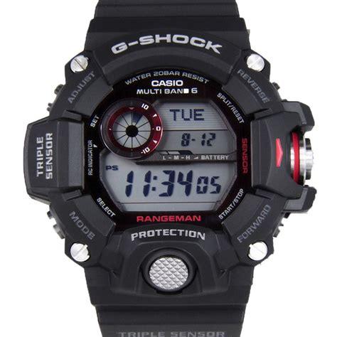 G Shock Rangeman Black Blue casio g shock g rangeman gw 9400 1dr gw 9400 3dr ebay