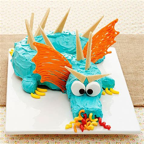 boat shelf for cupcakes dragon birthday party cake