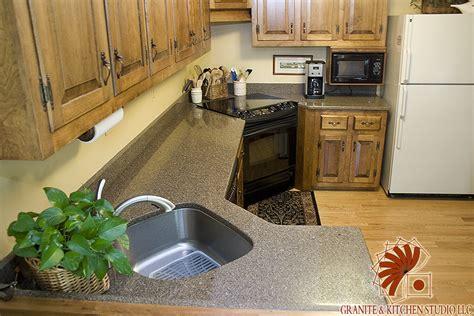 Kitchen And Granite Studio Cocoa Truffle Quartz Granite Kitchen Studio