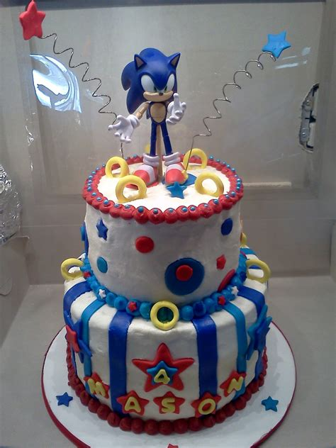 birthday cake sonic cakes decoration ideas little birthday cakes