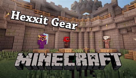 mods in minecraft hexxit kloudgear hexxitgear revisited minecraft mods