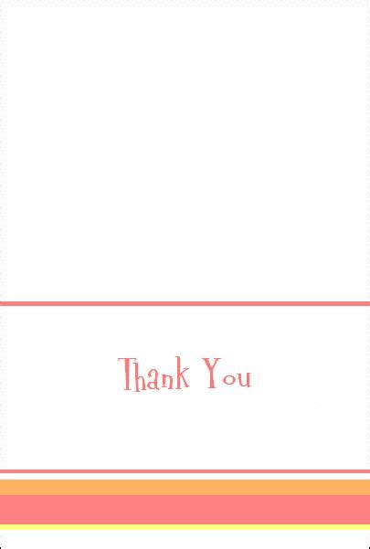 printable thank you card template for kids templates in printable