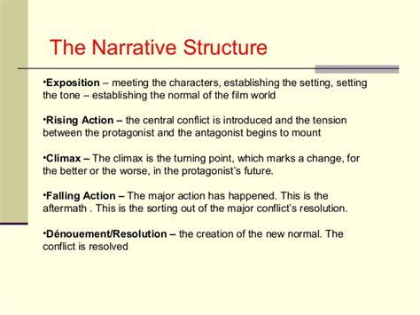 narrative pattern definition narrative structure in film