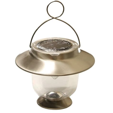 Hanging Outdoor Solar Lights Solar Powered Led Lantern Light Hanging Garden Decoration Outdoor Ebay