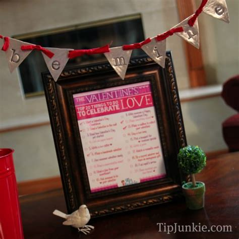 unique things to do for valentines day 20 things to do for valentines day free printable tip
