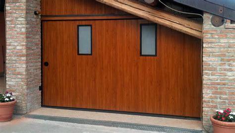 portoni sezionali laterali porte e portoni garage scorrevoli laterali e verticali