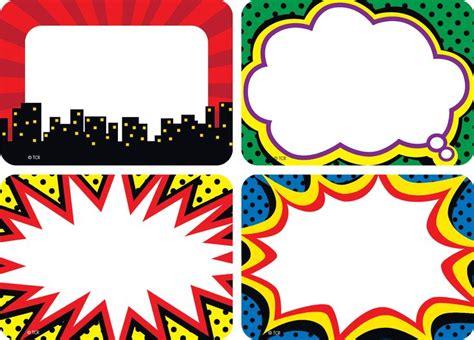 Sticker Stiker Label Nama Dc Superman Lego Etc 38 best name tag templates images on free
